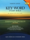 Key Word Study Bible NASB (2008 new edition), Bonded Black Leather