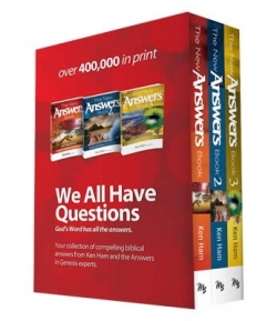 The New Answers Book by Ken Ham