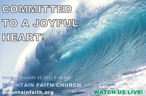 Committed To A Joyful Heart!