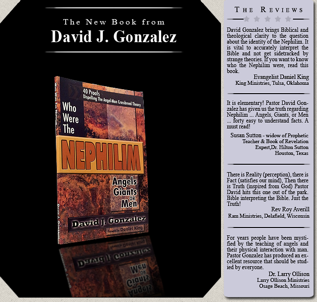 Who Were The Nephilim by David J Gonzalez