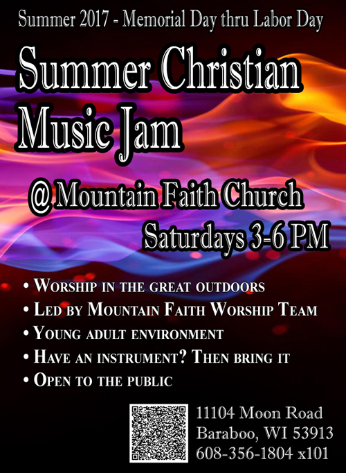 Summer Christian Music Jam