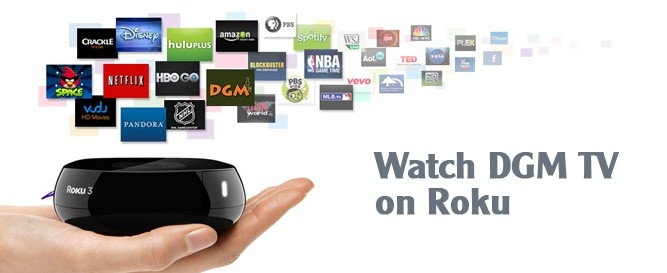 DGM TV on Roku